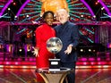 Bill Bailey and Oti Mabuse for the Strictly final