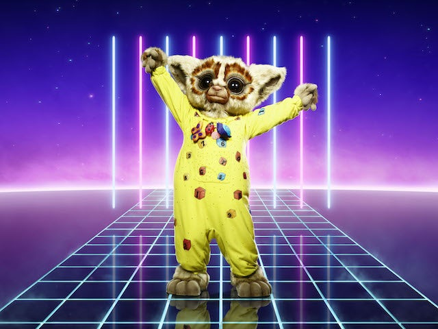 Bushbaby on series two of The Masked Singer