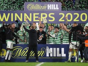 Celtic win Scottish Cup by beating Hearts on penalties