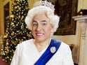 David Walliams as The Queen on the Britain's Got Talent Xmas Special 2020