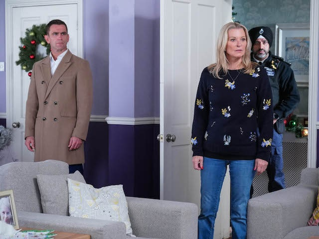 Jack and Kathy on EastEnders on December 21, 2020