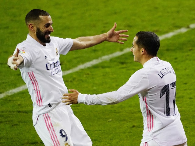 Result: Real Madrid move level on points with La Liga leaders Atletico courtesy of win over Eibar
