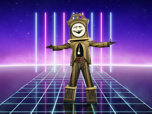 Grandfather Clock on series two of The Masked Singer