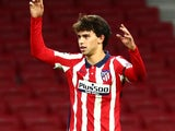 Joao Felix in action for Atletico Madrid on December 1, 2020
