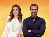 Kym Marsh and Gethin Jones hosting Morning Live