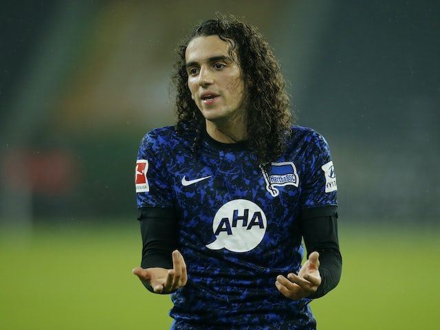 Hertha Berlin 'yet to decide on the future of Arsenal loanee Matteo Guendouzi'