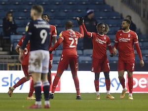 Alex Mighten equaliser sees Forest hold Millwall to a draw