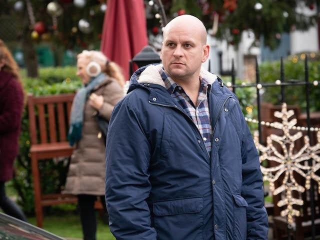 Stuart on EastEnders on January 1, 2021