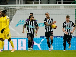 Callum Wilson penalty sees Newcastle rescue a point against Fulham