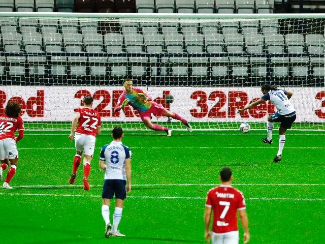 Result: Daniel Johnson's penalty sees Preston overcome Bristol City