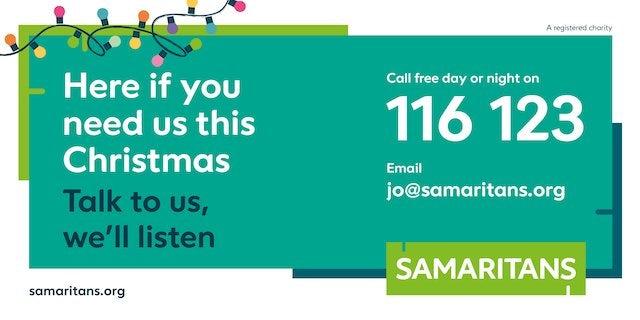 Samaritans PSA banner