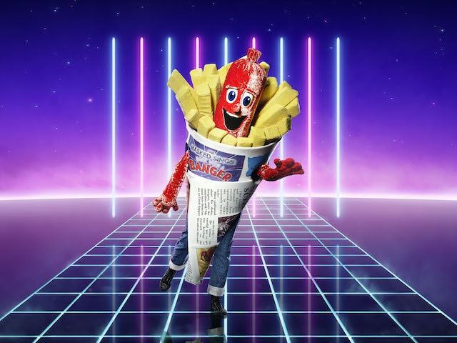 Sausage on series two of The Masked Singer