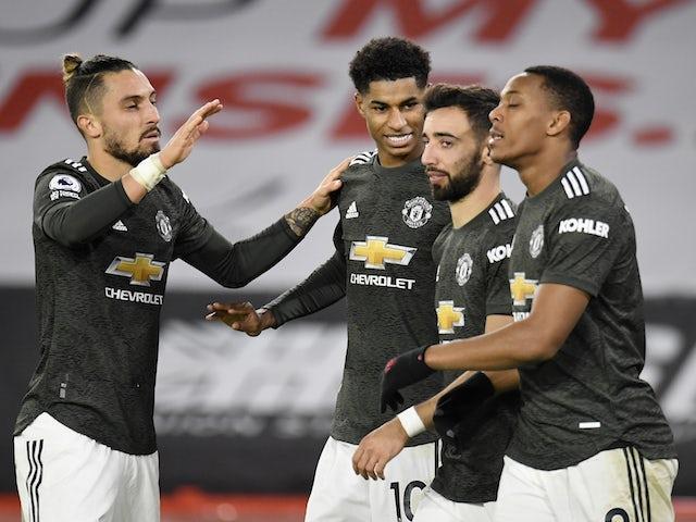 Result: Rashford nets brace as Man United overcome Sheffield United