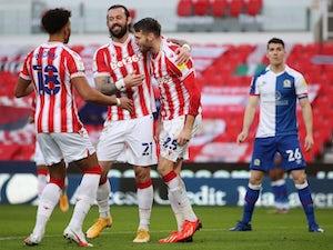 Nick Powell header sees Stoke overcome Blackburn
