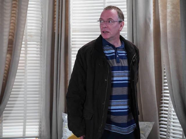 Ian on EastEnders on December 21, 2020