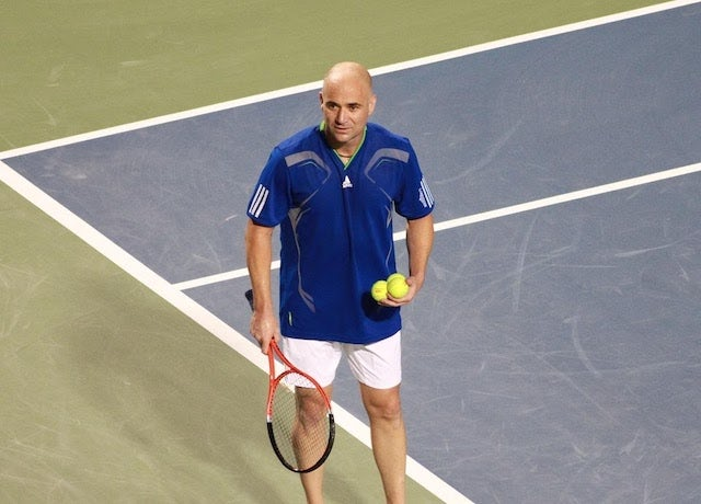 Andre Agassi's efforts in education