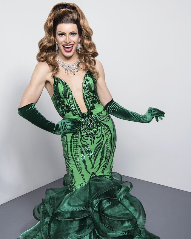 Veronica Green on series two of RuPaul's Drag Race UK