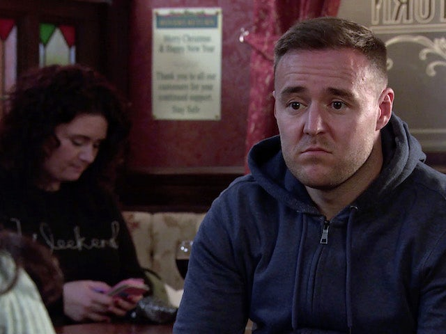 Tyrone on the second episode of Coronation Street on January 6, 2021