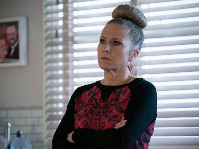 Linda on EastEnders on January 14, 2021