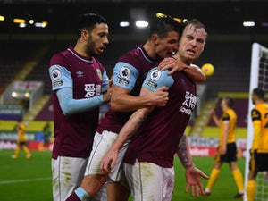 Ashley Barnes on target as Burnley overcome Wolves