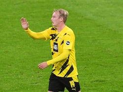 Borussia Dortmund midfielder Julian Brandt pictured in September 2020