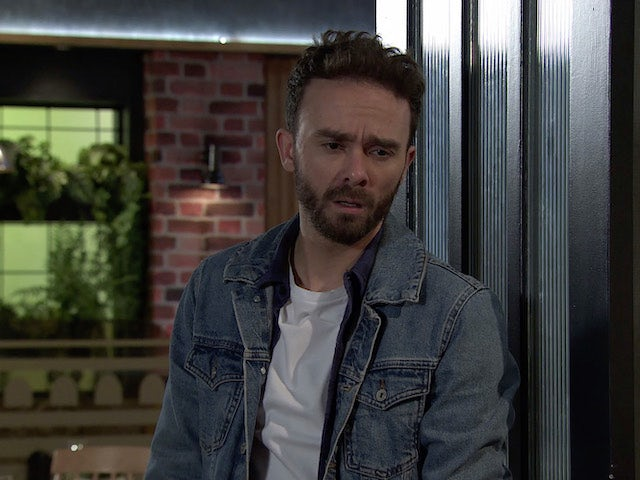 David on Coronation Street on January 8, 2021