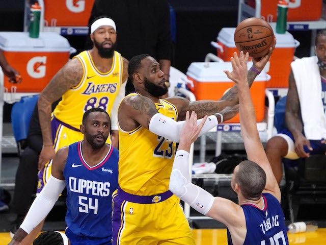NBA roundup: LA Clippers beat LA Lakers in season opener