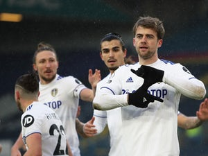 Leeds forward Patrick Bamford to be assessed ahead of Everton clash