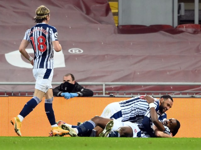 Result: Semi Ajayi equaliser sees West Brom hold Liverpool to a draw
