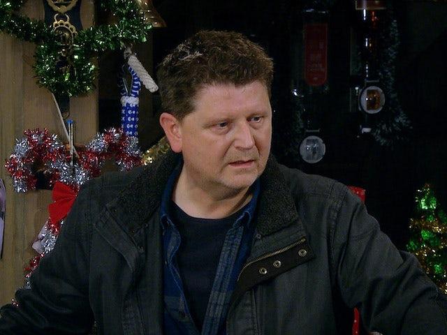 Paul on Emmerdale on December 21, 2020
