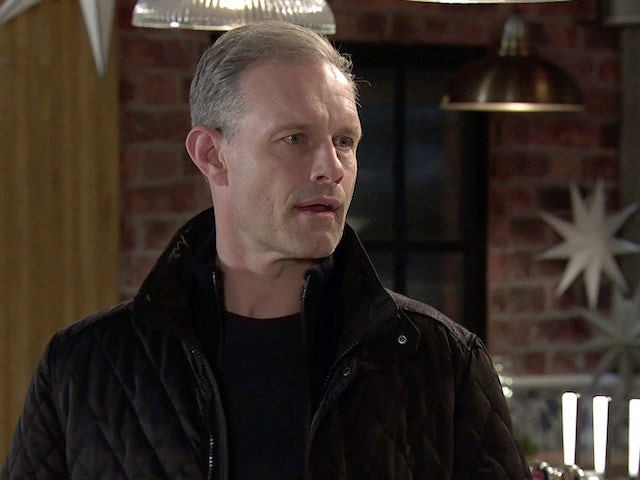 Nick on the second episode of Coronation Street on January 4, 2021