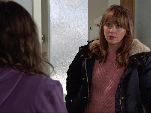 Maria on the second episode of Coronation Street on January 11, 2021