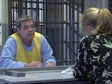 Johnny on the first episode of Coronation Street on January 13, 2021