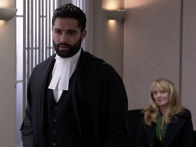 Imran on Coronation Street on January 8, 2021