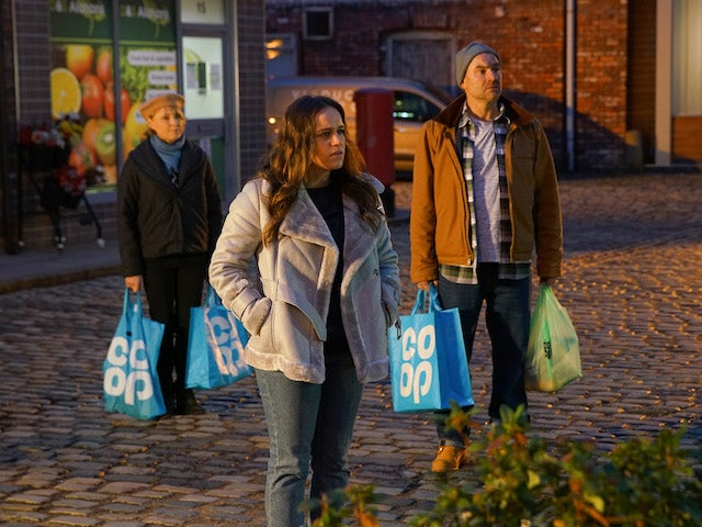 Faye on the second episode of Coronation Street on January 6, 2021