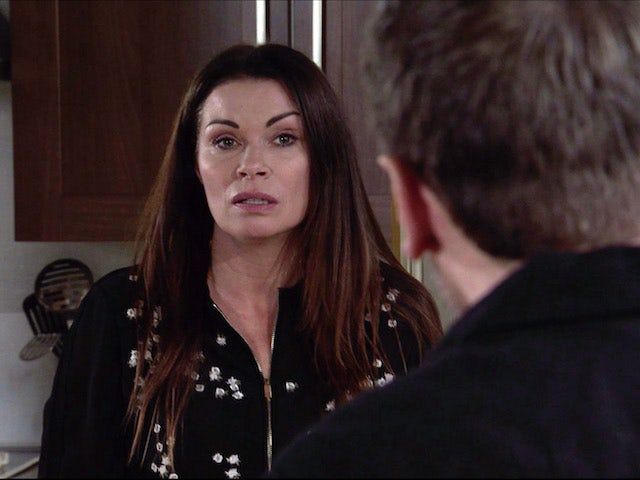 Carla on the first episode of Coronation Street on January 13, 2021