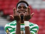 Odsonne Edouard in action for Celtic on December 20, 2020