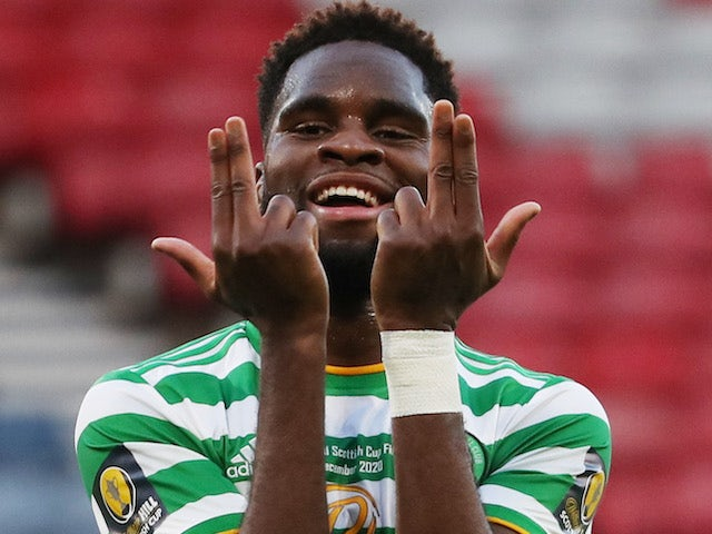Odsonne Edouard in action for Celtic on December 20, 2020