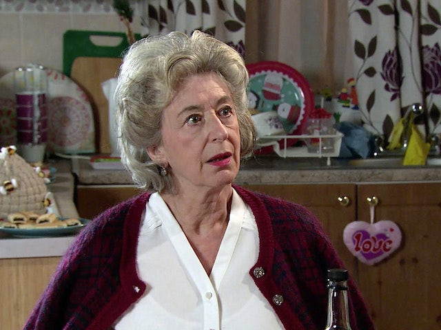 Evelyn on the second episode of Coronation Street on January 4, 2021