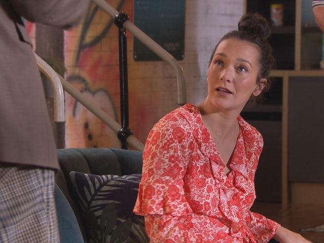 Cleo on Hollyoaks on January 5, 2021