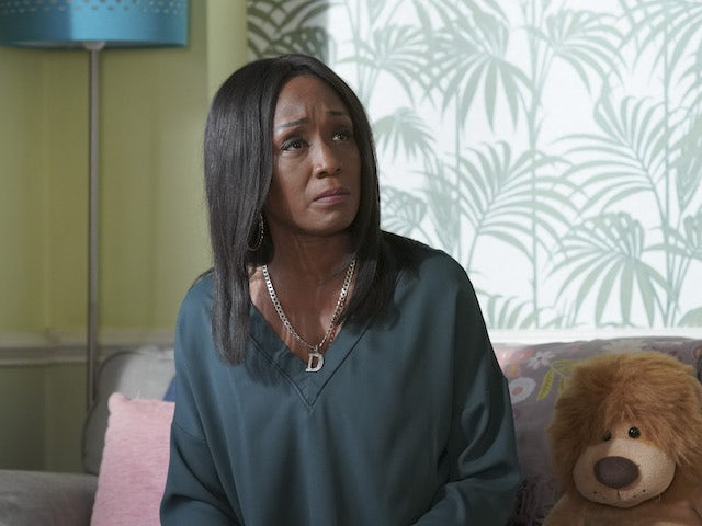 Denise on EastEnders on January 7, 2021