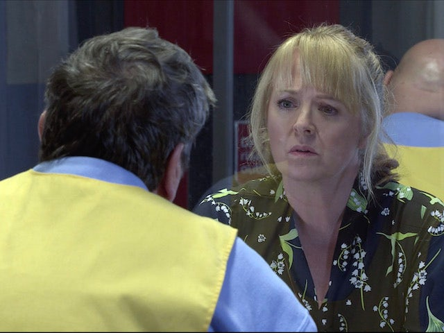 Jenny on the first episode of Coronation Street on January 13, 2021