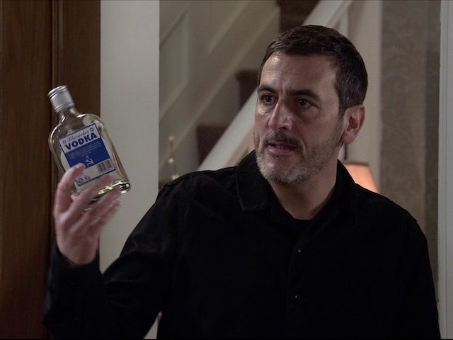 Peter on the first episode of Coronation Street on January 13, 2021