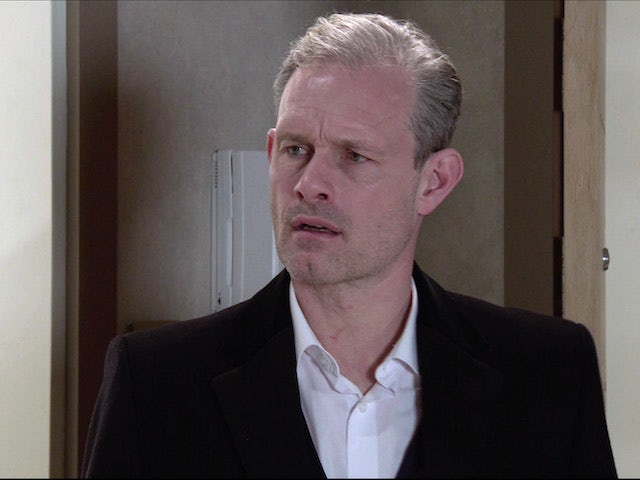 Nick on the first episode of Coronation Street on January 11, 2021
