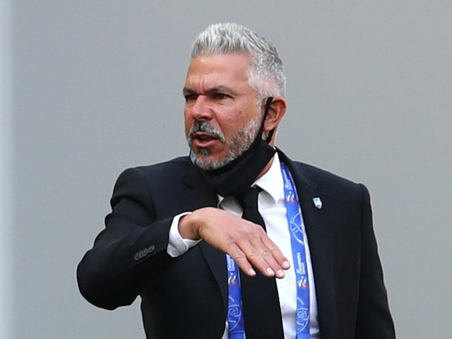 Sydney FC head coach Steve Corica pictured in December 2020