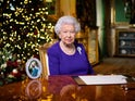 The Queen delivers her speech on Christmas Day, 2020