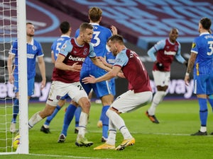 Brighton pegged back twice as West Ham rescue a point