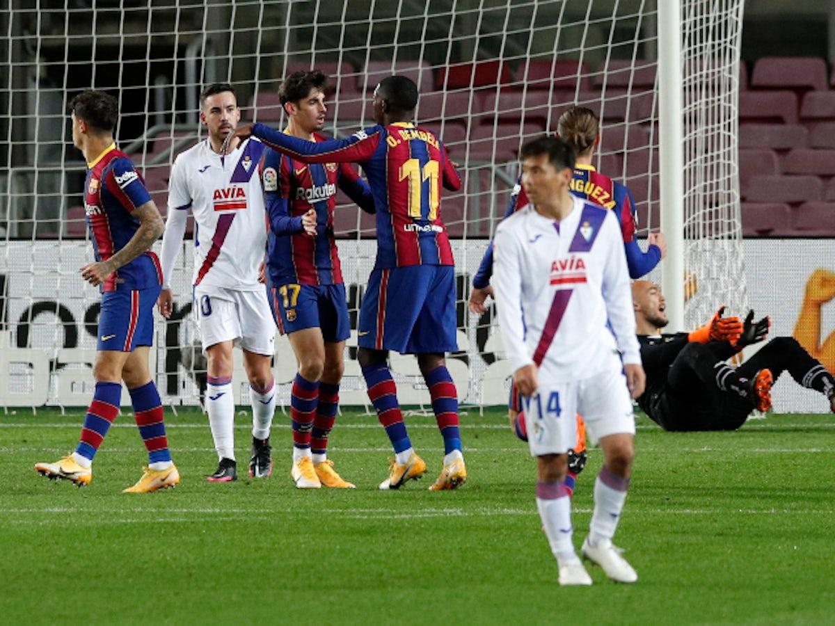 Preview Huesca Vs Barcelona Prediction Team News Lineups Sports Mole