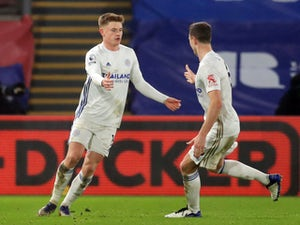 Harvey Barnes earns Leicester a point at Crystal Palace