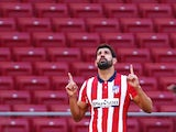 Atletico Madrid striker Diego Costa pictured in September 2020